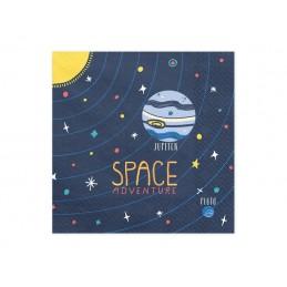 """SERWETKI PAPIEROWE """"SPACE..."""