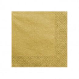 "SERWETKI ""CLASIC GOLD"" 40x40CM"