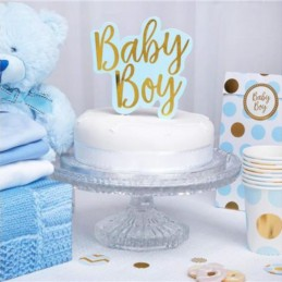"TOPPER NA TORT ""BABY BOY"""