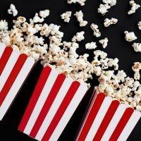 Pudełeczka na popcorn i słodycze