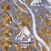 Dekoracje kryształowe i perłowe